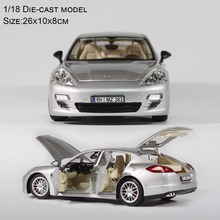 Adult/Child Alloy Toys Car Model 1/18 collection Car 6 Parts Open Diecast Car Model(China)