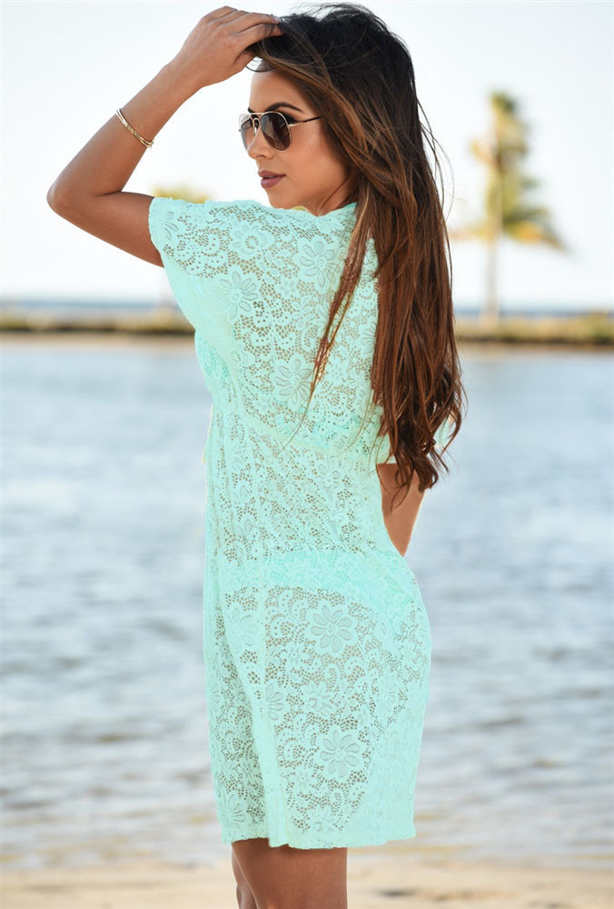 Bluish-Green-See-through-Lace-Cover-Up-Dress-LC42054-9-4