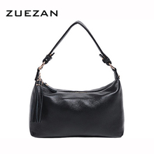 New Small HOBO Women Genuine Leather Shoulder bag Real Cow's Skin Handbag TOTE Crossbody bags Fashion girl B378