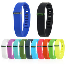 New Large Replacement Wrist Band & Clasp For Fitbit Flex Bracelet Large Flex Fitbit Bands Free Shipping(China)