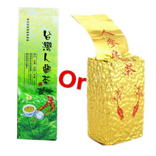China Oolong tea 250g/bag Green Natural Ginseng Renshen Wulong Cha slim Whitening Loss Weight Fast Gift Free Shipping