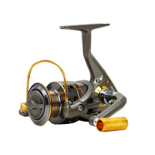 New Hot Sale Fishing Reels Spinning Pre-Loading Spinning Wheel 1000/7000S Customized 10 BB 5.5:1 200/375g Metal