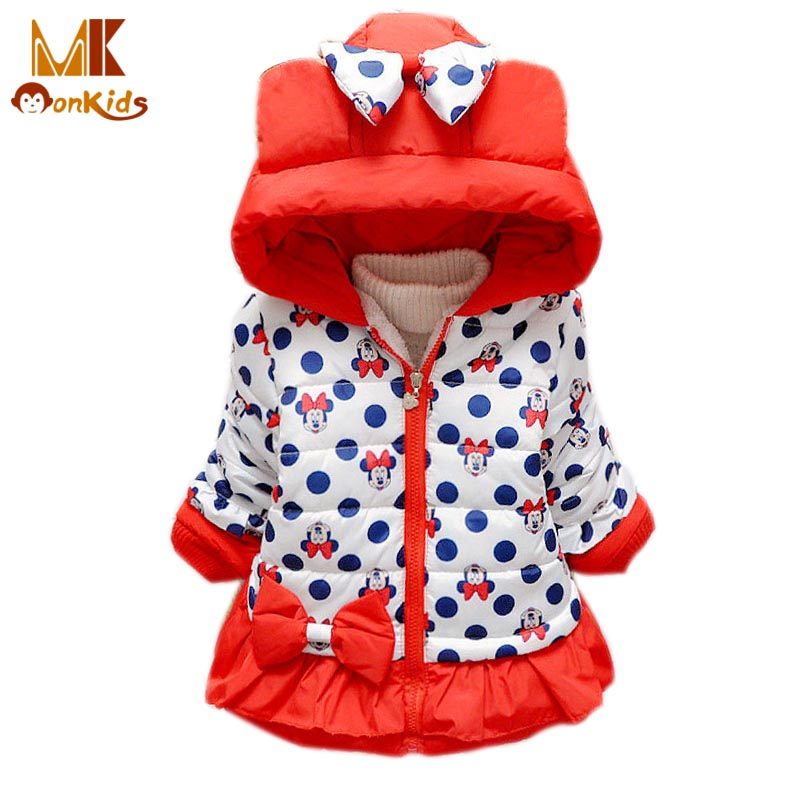 Monkids Down Parkas Kids Clothes Jacket Girl Winter Jacket for Girls Winter Coat Cartoon Outerwear Coats Childrens ClothingОдежда и ак�е��уары<br><br><br>Aliexpress