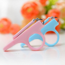 Baby Manicure Kit Safety Infant Finger Toe Care Scissor Nail Clipper