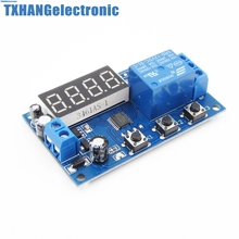 Integrated Circuits 12V Digital LED Automation Delay Timer Control Switch Relay Module Display