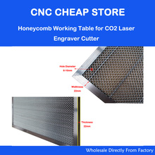 Honeycomb Work Bed Table CO2 50W 60W Tube Laser Engraving Cutting Machine Shenhui SH 350 550x350mm(China)