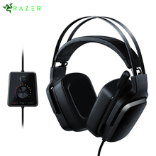 Razer Tiamat 7.1 V2 Analog Gaming Headset With Mic 50mm Custom Tuned Drivers Headphone Digital Surround Sound Gaming Headset(China)