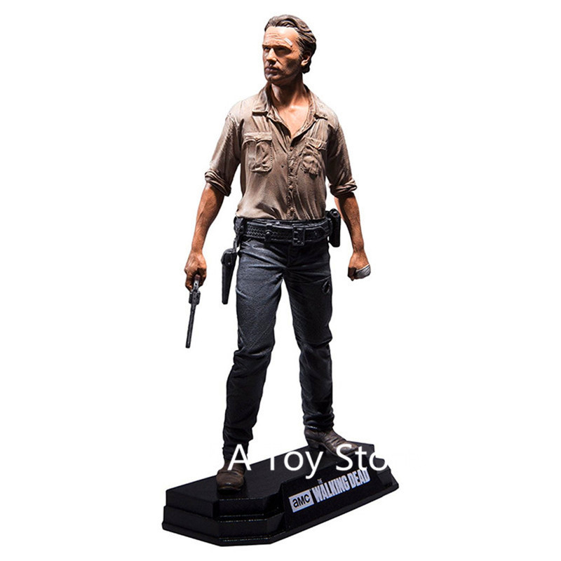 the-walking-dead-negan-Rick-Grimes-Daryl-Dixon-PVC-Action-Figure-Collectible-Model-Toy-7-18cm