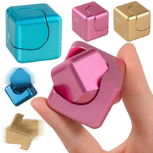 Funny Fidget Cube Spinner Adult Anti Stress Toys Spin Puzzle Magic Cube Finger Toys Skinner For Kids Adult Spiner 240pcs DHL