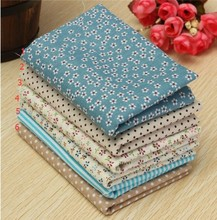 Hoomall Mixed Printing 1 Lot 25*25cm Floral Fabrics For Patchwork Sewing Materials Quilting Scrapbooking Cotton Cloth