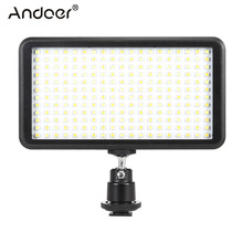 Andoer 228pcs Beads Ultra Thin LED Video Light Photo Studio Panel Lamp Lighting for Canon Nikon DSLR 3200K-6000K Illumination(China)