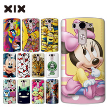 For funda LG G3 cute cartoon hard PC back cover for coque LG G3 case 2016 new arrivals for capa LG G3 mini G3S G3 Beat Case