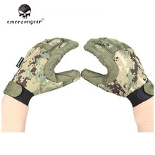 Emersongear Tactical Lightweight Camouflage Training Gloves Men Airsoft Combat Fishing Hunting Gloves Outdoor Gear EM8718