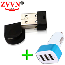 ZVVN Super Mini Tiny USB flash drive 4gb 8gb 16gb 32gb 64gb pen drive USB 2.0 Memory stick cle usb key U disk with 3USB gift