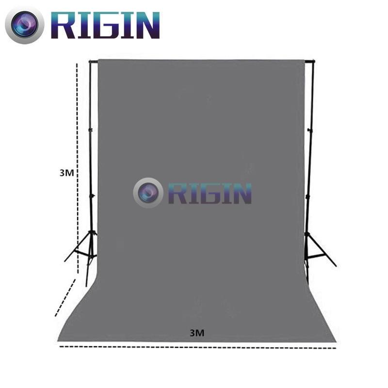 gray Color 3m*3m Portrait background non-woven cloth photo background cloth photography background cloth<br>