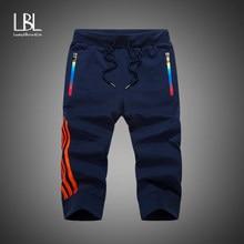 6b0ed2582136 Sommer Shorts Männer Mode Marke Board Schnell Trocken Männlichen Casual  Shorts Zipper Pocket Plus Größe Herren