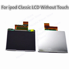 1PCS New 100% tested For iPod Classic 1th 2th 4th 5th 6th 7th Gen Thin Version 160GB lcd display replacement parts