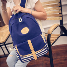 ChinKar New 2017 Campus Casual Women Backpack Girls Travel Bag Young Canvas Men Backpack Brand Fashion School Bags Female Bolsa