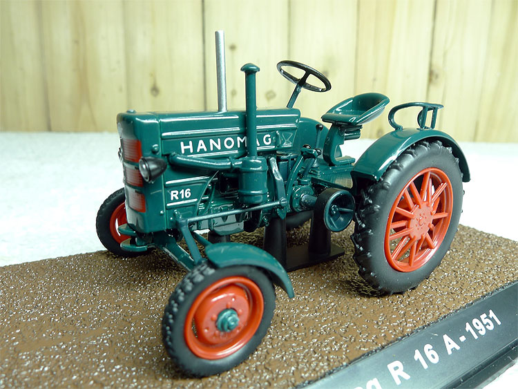rare Special offer ATLAS 1:43 Hanomag R 16 A Classical simulation alloy tractor model Agricultural vehicle model Collection mode<br><br>Aliexpress
