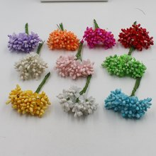 10pcs / lot Artificial Berry Bubble Wedding Dresses / Home Garden Decoration DIY Crochet Hair Gift Box Accessories(China)