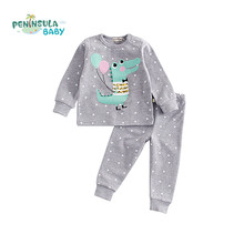 Buy Autumn Baby Boy Girl Clothes Long Sleeve Cotton T-shirt Tops + Pant 2PCS Outfit Toddler Kids Children Clothing Tracksuit Set for $15.85 in AliExpress store