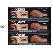 Maxdona 3 pairs Instant Eyeshadow sticker magic eyes cosmetic makeup eye shadow sticker Easy to Wear 42 Different styles