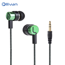 Buy MP3/mp4 Roping Earphone Braided Stereo earphone Metal Earphones iphone Samsung xiaomi Huawei Mobile Phones PC for $1.16 in AliExpress store