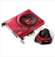Original CREATIVE Sound Blaster Zx PCI-e High Performance Gaming Entertainment Audio 5.1 SOUND CARD Stereo 24-bit 192 kHz
