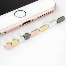 4Pcs For iPhone 5 5s SE 5G 6 6s plus 5C USB date wire dust plug headphone Storage cell phone Dustproof Anti Dust Earphone