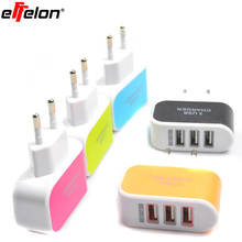 Effelon 2.1A USB Wall Charger EU plug for Apple iPad mini/2/3/4/AIR For Samsung Android Tablet Charger(China)