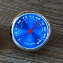 1 pcs one gauge car hygrometer blue cool meter car styling best gift for friend Mechanical Design