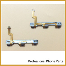 100% Original New ON And OFF Switch Button Flex Cable For HTC One Max T6  Power Flex Cable Replacement Parts