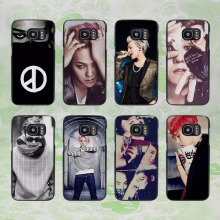 Bigbang K-pop G-Dragon T.O.P Taeyang Daesung Seungri design hard black phone Case Cover for samsung galaxy s8 s8 plus s7 s6 edge