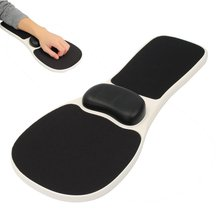 Mouse Pad Support Arm Wrist Rest Mosuepad Hand Shoulder Protect Pad Ergonomic Chair Armrest Extender Computer Desk Tablet Mat
