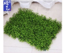 2017 New item 40x60cm synthetic DIY Grass Fence Panel Plastic Green Boxwood Mat Plant Grass Mat Outdoor Garden Decoration
