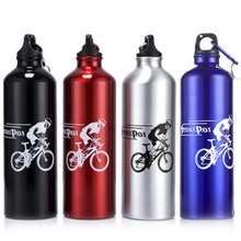 700ml Sports Water Bottles Drinking Cycling Hiking Fitness Gym Bottle free shipping(China)