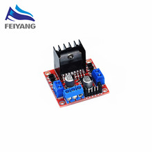 10pcs SAMIORE ROBOT L298N motor driver board module stepper motor smart car robot(China)