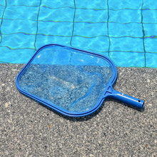 44.5*30cm Plastic Professional Leaf Rake Mesh Frame Net Skimmer Cleaner Swimming Pool Spa Tool New For Rubbish Leaves Cleaning