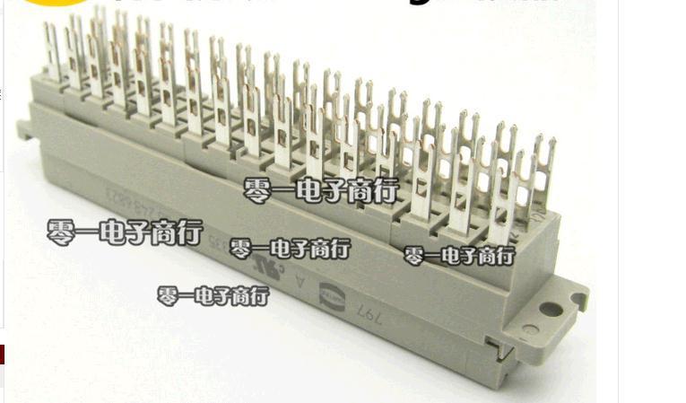 3-row connector 48P straight hole lug connectors 09062486823<br>
