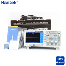 Portable LCD Deep Memory 100MHz Bandwidths Multimeter Digital Storage Oscilloscopes Hantek DSO5102B