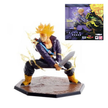 Dragon Ball Z Tamashii Nations Figuarts Zero Super Saiyan Trunks Figure Anime Manga Figurine Collectible Mascot Kid Toys