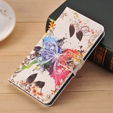 For Samsung Galaxy S3 Neo CaseS Retro Leather Flip wallet case For galaxy S3 DUOS  gt i9300i GT I9300 FLower Butterfly Fundas