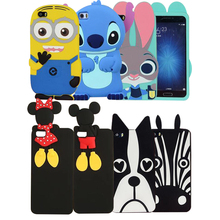 3D cartoon Rabbit Girl For Xiaomi Mi 5 case soft silicone cover case for xiaomi mi5 cases and covers for mi 5(China)