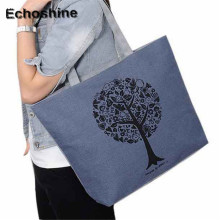 2016 new arrive Fashion Cute Printing Women Canvas Bags Shoulder Bag Casual Handbag bolsa feminine gift wholesale