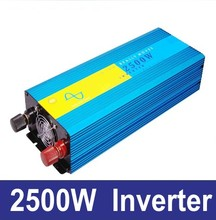 2500w pure sine wave power inverter,48V DC to AC 220V solar / wind / battery power supply(China)