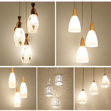 HGhomeart Modern Pendant Lamps Design Dining Room Lights Restaurant Lighting  Luminaria 110V-220V E27 Led Pendant Lights Lamp