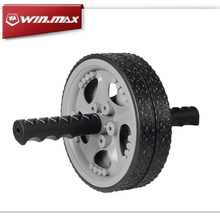 Winmax No Noise Quiet Abdominal Muscle Exercise for Gym Fitness Workout Abdomen Exerciser Wheel Ab Rollers