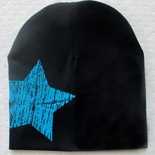 Fashion Baby Kid Toddler Cute Stars Printed Beanie Soft Warm Cotton Girl Boy Caps