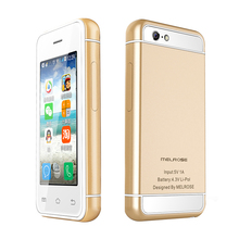MELROSE S9 android 4.4.2 Ultra slim mini MTK6572 Dual core 3.5mm earphone jack smart 3G Wifi mobile phone with play store P017