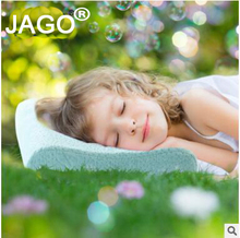 JAGO Brand Malaysia Natural Latex Baby Pillow Healthy Sleeping Orthopedic Kids Neck Pillow Child Latex pillow for 3-6years baby(China)
